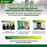 STAI PERSIS Jakarta Mengucapkan Rasa Syukur